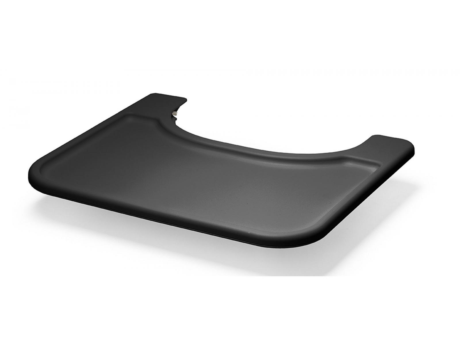 stokke tablette noir pour chaise haute steps. Black Bedroom Furniture Sets. Home Design Ideas