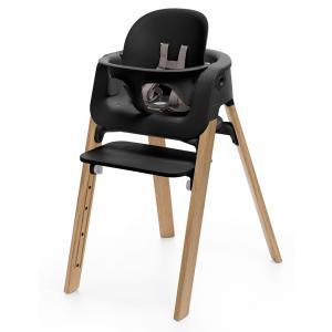Stokke - 349802 - Baby set Noir pour chaise haute Steps (348862)