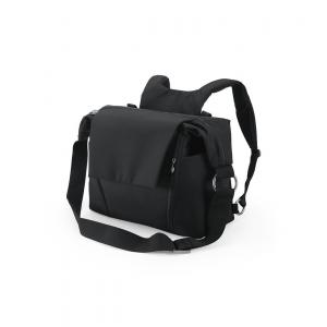 Stokke - 457106 - Nouveau Sac à langer Noir  pour poussette Stokke, avec deux modes de portage (348898)