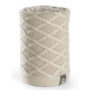 Stokke - 177813 - Couverture Plaid en Coton Stokke® Cable Cream (348924)