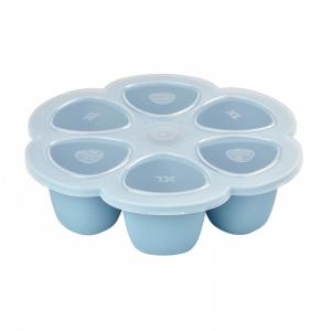 Beaba - 912456 - Multiportions silicone 6 x 150 ml blue (348972)