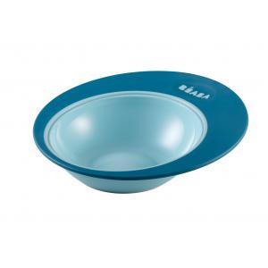 Beaba - 913390 - Assiette ergonomique Ellipse blue (349042)