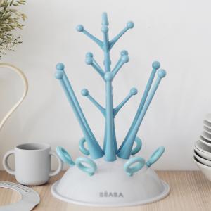 Beaba - 911614 - Egoutte-biberons arbre blue (349140)