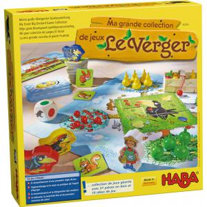 Haba - 302283 - Ma grande collection de jeux Le verger (349508)