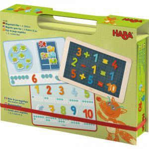 Haba - 302589 - Boîte de jeu magnétique Mes premiers chiffres (349744)