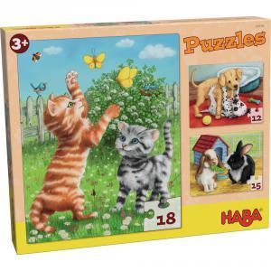 Haba - 302638 - Puzzles Animaux de compagnie (349788)