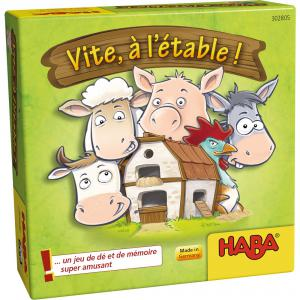 Haba - 302805 - Jeux de société - Vite, à l'étable ! (349870)