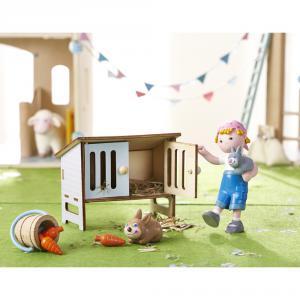 Haba - 303094 - Figurine Little Friends – Lapin Mimi (350214)