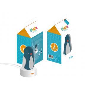 Olala Boutique - 126-000-003 - Veilleuse Solo pingouin Paul (350236)
