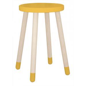 Flexa Play - 82-50105-70 - Table d'appoint Jaune Ø:30 H:47 (350508)
