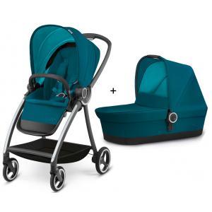 GoodBaby - BU05 - Poussette complète MARIS Capri Blue - turquoise (350742)
