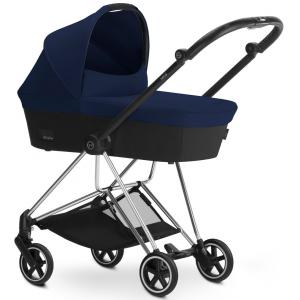 Cybex - BU106 - Poussette MIOS Chrome nacelle Midnight Blue - navy blue (352456)