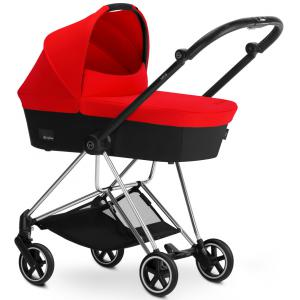 Cybex - BU108 - Poussette MIOS Chrome nacelle Autumn Gold - burnt red (352460)