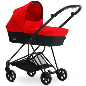 Cybex - BU115 - Poussette MIOS Matt Black nacelle Autumn Gold - burnt red (352474)