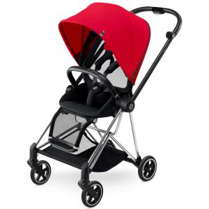 Cybex - BU119 - Poussette MIOS Chrome capote Infra Red - red (352482)