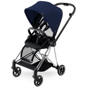 Cybex - BU120 - Poussette MIOS Chrome capote Midnight Blue - navy blue (352484)