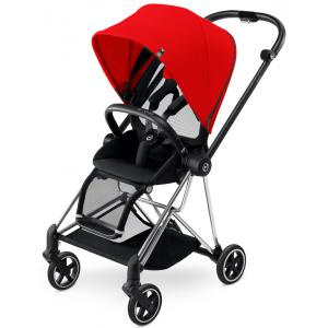 Cybex - BU122 - Poussette MIOS Chrome capote Autumn Gold - burnt red (352488)