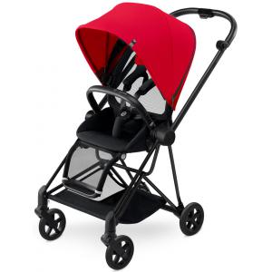 Cybex - BU126 - Poussette MIOS Matt Black capote Infra Red - red (352496)