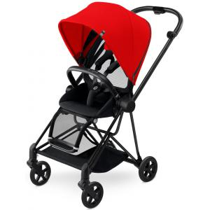 Cybex - BU129 - Poussette MIOS Matt Black capote Autumn Gold - burnt red (352502)