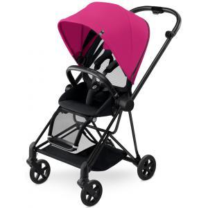 Cybex - BU130 - Poussette MIOS Matt Black capote Mystic Pink - purple (352504)