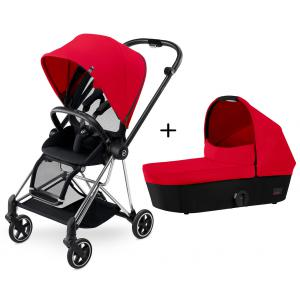 Cybex - BU133 - Poussette MIOS Chrome Complète  Infra Red - red (352510)