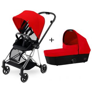 Cybex - BU136 - Poussette MIOS Chrome Complète  Autumn Gold - burnt red (352516)