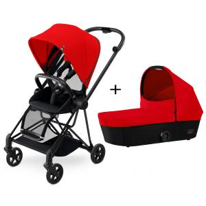 Cybex - BU143 - Poussette MIOS Matt Black Complète  Autumn Gold - burnt red (352530)