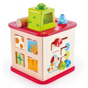Hape - E1812 - Cube d'activités Puppy et ses amis (352718)