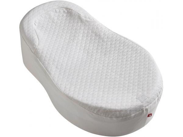 Drap housse pour cocoonababy en fleur de coton blanc taille 0-3/4 mois