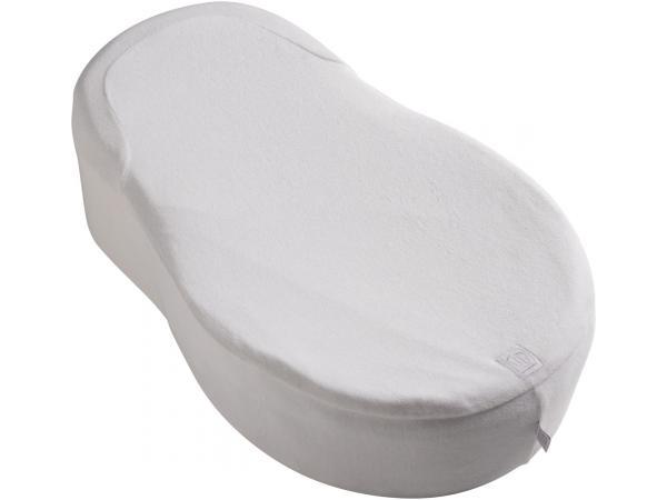Drap housse pour cocoonababy en fleur de coton gris taille 0-3/4 mois