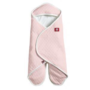 Red Castle  - 0837164 - Couverture babynomade en fleur de coton légère rose poudré - Taille 6-12 mois (352870)
