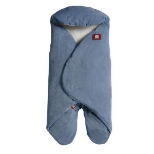 Red Castle  - 0832168 - Couverture babynomade chambray bleu - Taille 0-6 mois (352888)