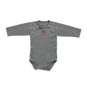Red Castle  - 012418 - Body manches longues gris - Taille 12 mois (353012)