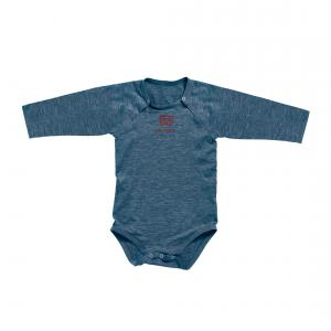 Red Castle  - 0126174 - Body manches longues bleu nuit - Taille 24 mois (353036)