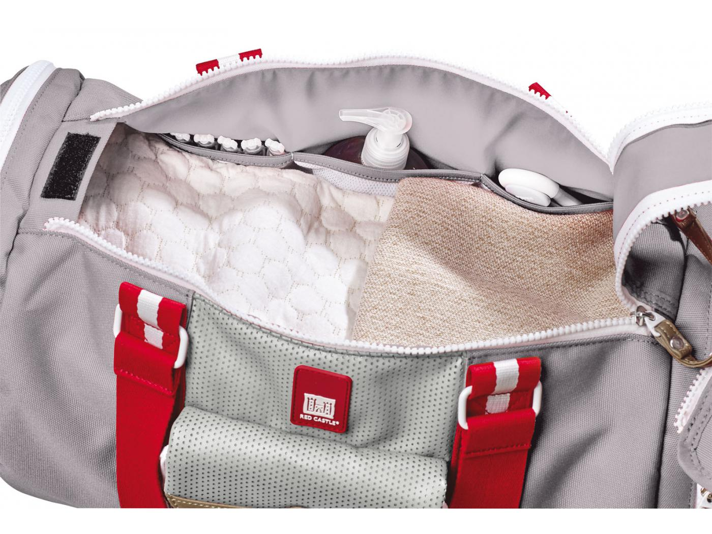 Red Castle Sac Bowling gris
