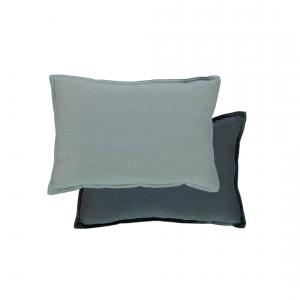 Camomile London - C09INKC- - coussin garni bicolore encre/chambray (353246)