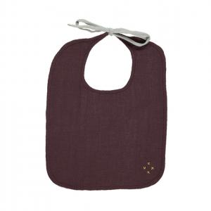 Camomile London - BIB-2-PW - Lot de 2 bavoirs unis rose - aubergine (353306)