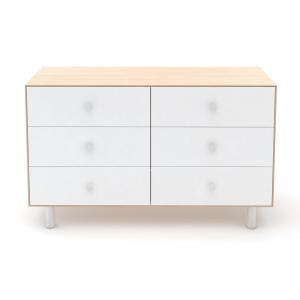 Oeuf NYC  - BU35 - Commode Merlin 6 tiroirs base CLASSIC naturel (353360)