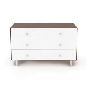 Oeuf NYC  - BU36 - Commode Merlin 6 tiroirs base CLASSIC noyer (353362)
