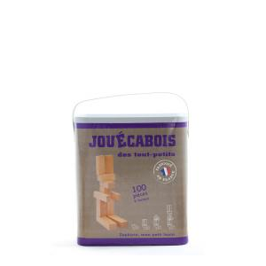 Jouecabois - 353450 - Jeu de construction Jouécabois des tout-petits 100 pièces (353450)
