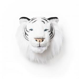Wild and Soft - WS0004 - Trophée en peluche Albert le tigre blanc (353508)