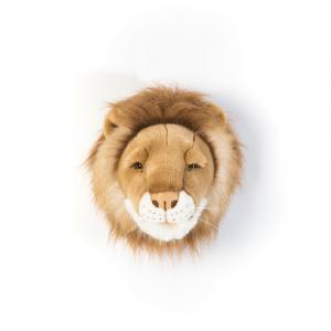Wild and Soft - WS0024 - Trophée en peluche Cesar le petit lion (353526)