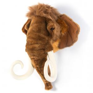 Wild and Soft - WS0055 - Trophée en peluche Arthur le mammouth (353560)