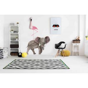 Wild and Soft - WS4002 - Sticker mural éléphant (353610)