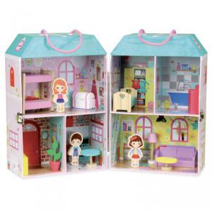 Vilac - 6314 - Maison de poupée en valise - à partir de 3+ (353780)