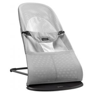Babybjorn - 005029 - Transat Balance Soft Argent-Blanc, Mesh (354066)