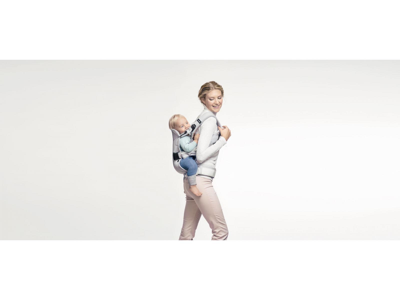 babybjorn porte b b one air babybj rn noir mesh. Black Bedroom Furniture Sets. Home Design Ideas