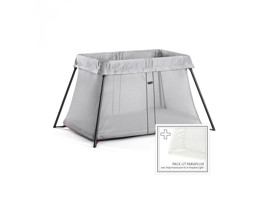 babybjorn lit parapluie light argent. Black Bedroom Furniture Sets. Home Design Ideas