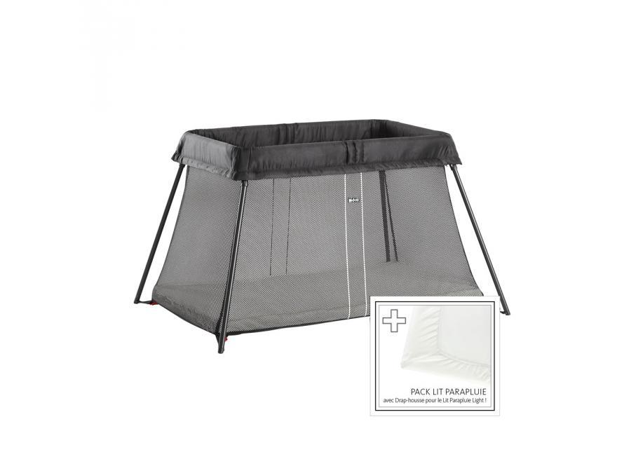 lit parapluie noir drap housse. Black Bedroom Furniture Sets. Home Design Ideas