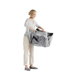 Babybjorn - 640002 - Lit Parapluie Argent + Drap-housse (354258)